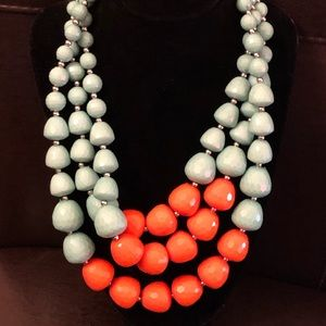 Jewelry - Three strands necklace pre-owned